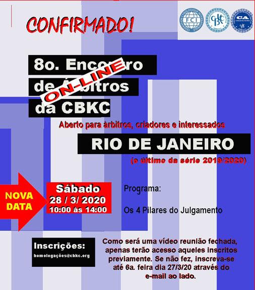 Imagem Videoconferências CBKC: 8º Encontro de Árbitros da CBKC