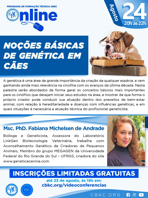 Imagem Videoconferências CBKC: Noções básicas de genética em Cães