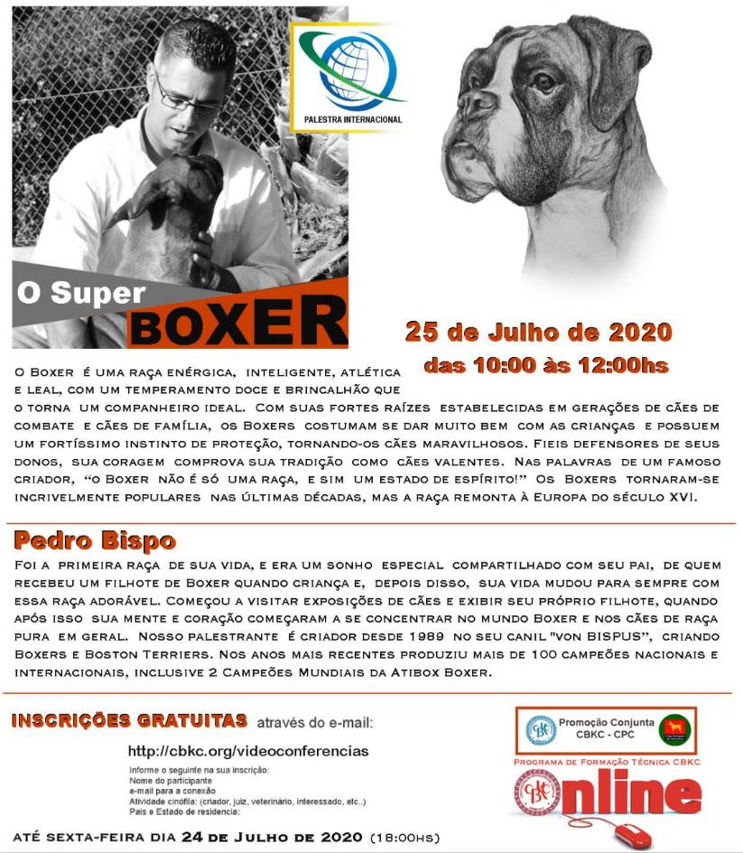 Imagem Videoconferências CBKC: O Super Boxer