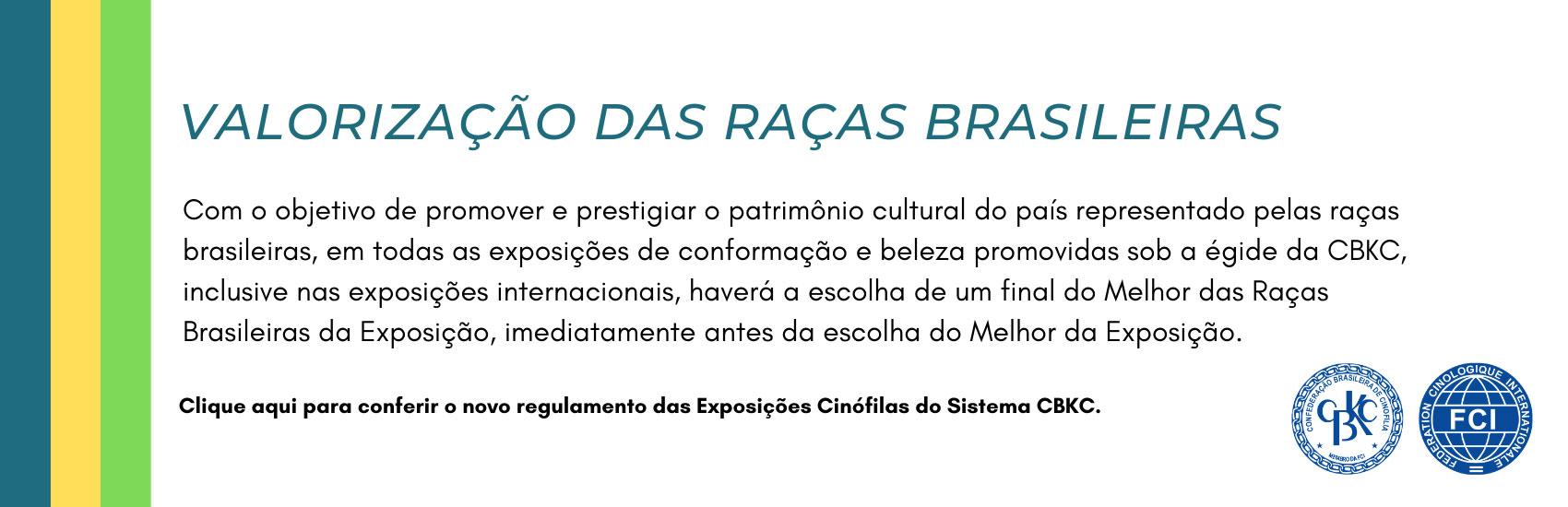 CBKC - Raças Brasileiras CBKC.