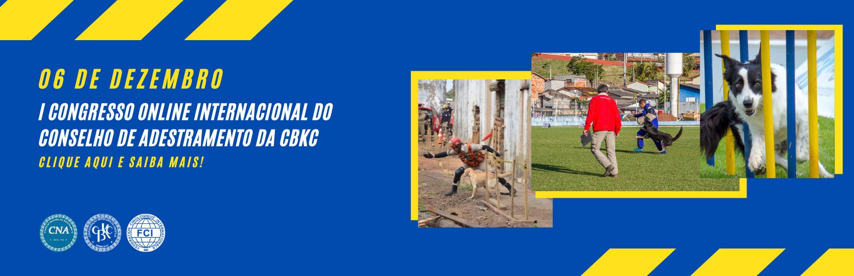 CBKC - Congresso Conselho de Adestramento da CBKC
