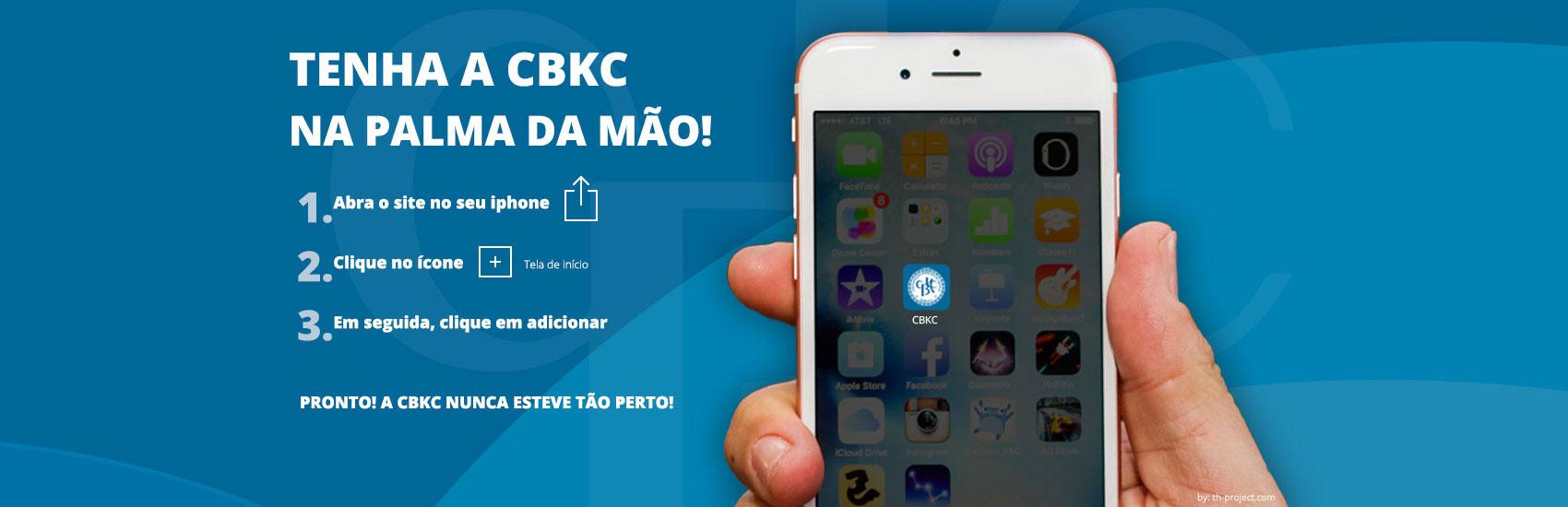 CBKC - no seu smartphone!